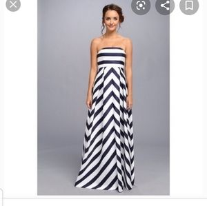 NWT Jessica Simpson Chevron Maternity Maxi Dress